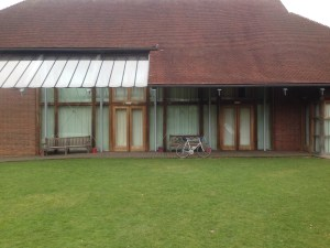 Itchen Abbas Village Hall - Patio