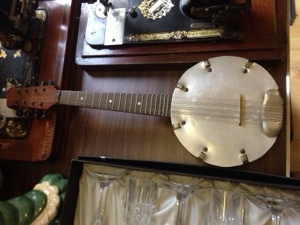 Steel faced Banjolele