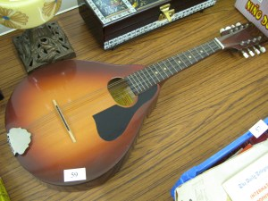 Lot 59 - Romanian Mandolin Sold for £25