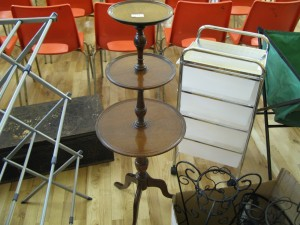 Lot 131 - Three Tier Cake Stand - Sold for £35