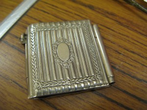 Lot 228 - Metal Note Case - Sold for £25