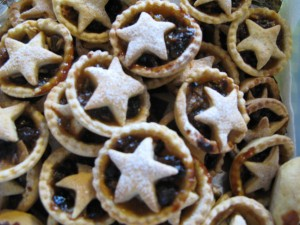 Mince Pies at our final auction of 2015