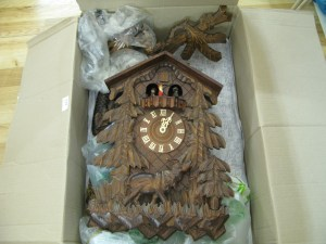 Lot 229 - Very large cuckoo clock - Sold for £60