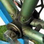 A S Gillott frame bottom bracket shell