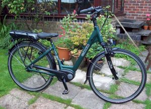 EBCO UCL80 Lowstep electric bike