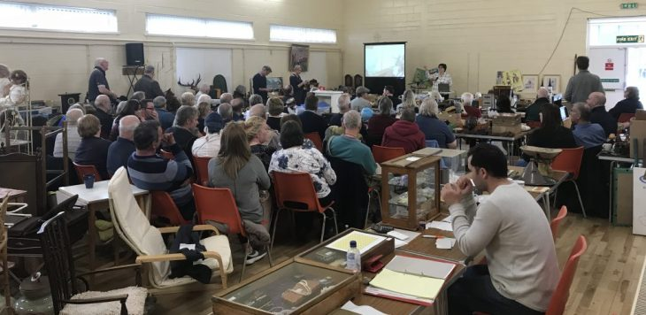 Auction at Badger Farm Community Centre 7th April 2018