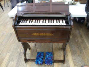 Lot 328 - Harmonium by Boyd of London - Sold for £40