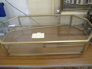 Lot 61 - Liberty display case - Sold for £50