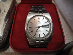 Lot 137 - Omega Constellation Gentlemans Wrist Watch - Sold for £200