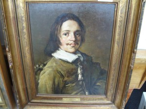 Lot 310 - Portrait in Oils by Jancsek - Sold for £220