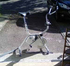 Indoor cycle trainer