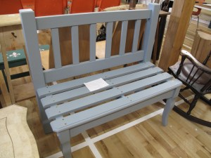 Lot 274E - Bespoke upcycled bench - Sold for £30