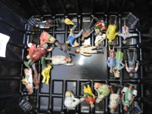 Lot 165 - Collection of Britains & others: Lead Farmers, Workers, Dairy Maids etc - Sold for £40