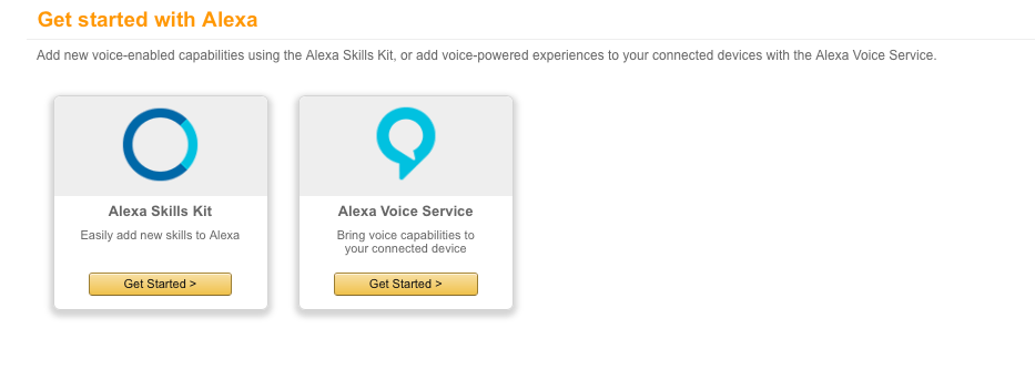 Alexa Skills Kit
