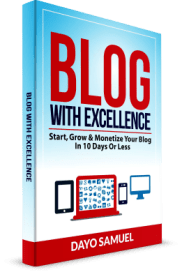 BLOG WITH EXCELLENCE BOOK