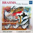 BRAHMS Violin Sonatas 1, 2 & 3 – Schiff – MSR