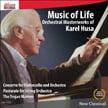 "KAREL HUSA ""Music of Life"" = Cello Con.; Pastorale; Suite – U. of Louisville Sym./Paul York. c./ Kimcherie Lloyd – Ablaze"