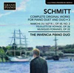 SCHMITT: Complete Original Works for Piano Duet, Vol. 3 =  Marche du 163 R.I.; Feuillets de voyage, Books I – II; Musiques foraines – The Ivencia Duo – Grand Piano