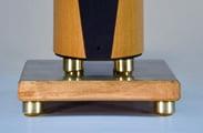 Mapleshade Speaker Plinths,  c. $495 pr. for tower speakers, Center Channel Bedrock c. $240