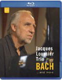 Jacques Loussier Trio play BACH…and more, Blu-ray (2004/2014)