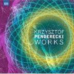 """PENDERECKI: """"Works"""" = Polymorphia; Anaklasis; Fluorescences; Tren; Intermezzo; Kosmogonia – Antoni Wit, cond. – Naxos (double vinyl)"""