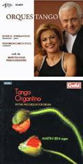 Orquestango [TrackList follows] – Binelli-Ferman Duo (bandoneon & piano)/ Montevideo Philharmonic/ Federico Garcia Vigil – 4Tay Tango Organtino – Rhythm and Groove for Organ [TrackList follows] – Martin Heini, organ – Guild