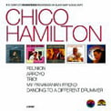 Chico Hamilton – Reunion; Arroyo; Trio!; My Panamanian Friend; Dancing To A Different Drummer – Black Saint/ Soul Note/CAM (5-CDs)