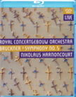 BRUCKNER: Symphony No. 5 cond. by Nikolaus Harnoncourt, Blu-ray (2014)