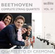 BEETHOVEN: Complete String Quartets, Vol. IV = String Quartet No. 1 in F Major; String Quartet No. 14 in C-sharp Minor – Quartetto di Cremona – Audite