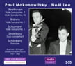 Paul Makanowitzky and Noel Lee = Works of BEETHOVEN, SCHUMANN, STRAVINSKY, BRAHMS, MOZART, SCHOENBERG & MONDONVILLE for violin and piano – Makanowitzky & Vitas – MeloClassic (2 discs)
