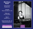 Monique Haas, Vol. 2 = SCHUMANN: Kreisleriana, Op. 16; MOZART: Piano Sonata No. 8 in A Minor; DEBUSSY: Pour le Piano; BACH: Partita No. 2 – Monique Haas, piano – MeloClassic