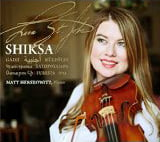 """Shiksa"" [TrackList follows] – Lara St. John, violin/ Matt Herskowitz, piano – Ancalagon"