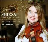 """Shiksa"" [TrackList follows] – Lara St. John, violin/ Matt Herskowitz, piano – Ancalagon"