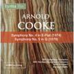 COOKE: Symphonies 4 & 5 –  BBC S.O. /BBC Northern S.O. / John Pritchard & Bernard Keeffe – Lyrita