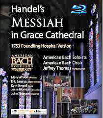 HANDEL: Messiah at Grace Cathedral – audio-only Blu-ray (2015)