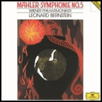 MAHLER: Symphony No. 5 – Vienna Philharmonic Orch./ Leonard Bernstein – DGG (2 vinyls)
