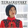 TCHAIKOVSKY: Serenade melancolique; Valse-Scherzo; Violin Con. in D; Souvenir d'un lieu cher – Jennifer Koh, v./ Odense SO/ Alexander Vedernikov – Cedille