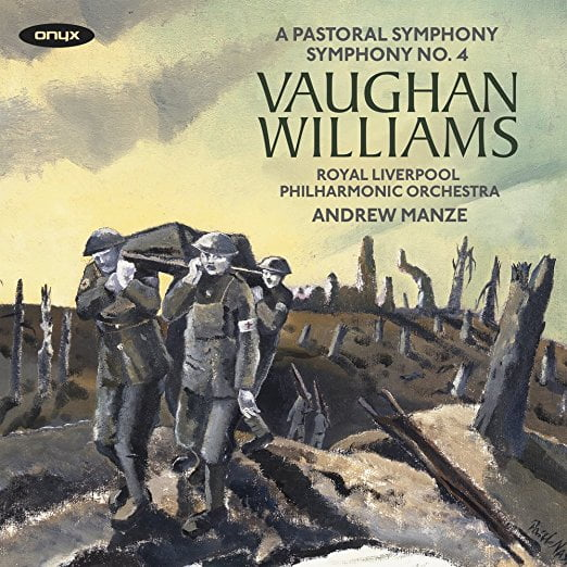 VAUGHAN WILLIAMS Symphony No. 3; Symphony No. 4 – Andrew Staples, Rhys Owens, Royal Liverpool Philharmonic Orchestra/Andrew Manze – ONYX