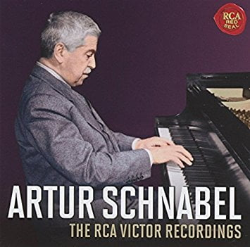 Artur Schnabel: The Complete RCA Victor Recordings = BEETHOVEN: Concerti, Sonata; SCHUBERT: Impromptus- Artur Schnabel (p.) / Chicago Symph. Orch./ Frederick Stock (cond.) – Sony
