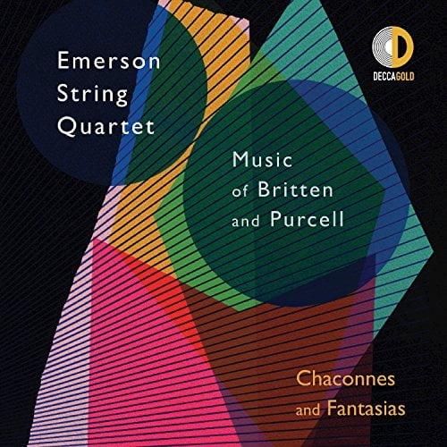 BRITTEN: String Quartet No. 2, No. 3;  PURCELL: Fantasias & Chaconne –  Emerson String Quartet – Decca Gold