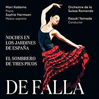 Manuel de FALLA: Nights in the Gardens of Spain; The Three-Cornered Hat – Mari Kadama (p.) /Sophie Harmsen, (mezzo) /Orch. de la Suisse Romande/Kazuki Yamada – Pentatone