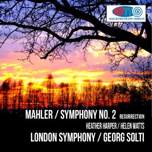 MAHLER : Symphony No 2 – Heather Harper (sop) / Helen Watts (mezzo) / London SO and chorus / Georg Solti – HDTT