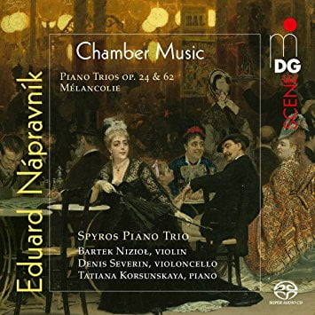 NAPRAVNIK: Chamber Music = Piano Trios; Piano Pieces – Spyros Piano Trio – MDG