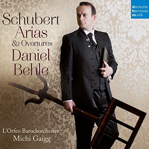 SCHUBERT: Arias and Overtures = Schubert's Stage Music – Daniel Behle, tenor/ L'Orfeo Barockorchester/ Michi Gaigg – Deutsche Harmonia Mundi