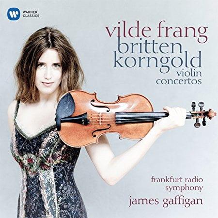 KORNGOLD: Violin Concerto; BRITTEN: Violin Concerto – Vilde Frang, violin/ Frankfurt Radio Symphony/ James Gaffgan – Warner Classics