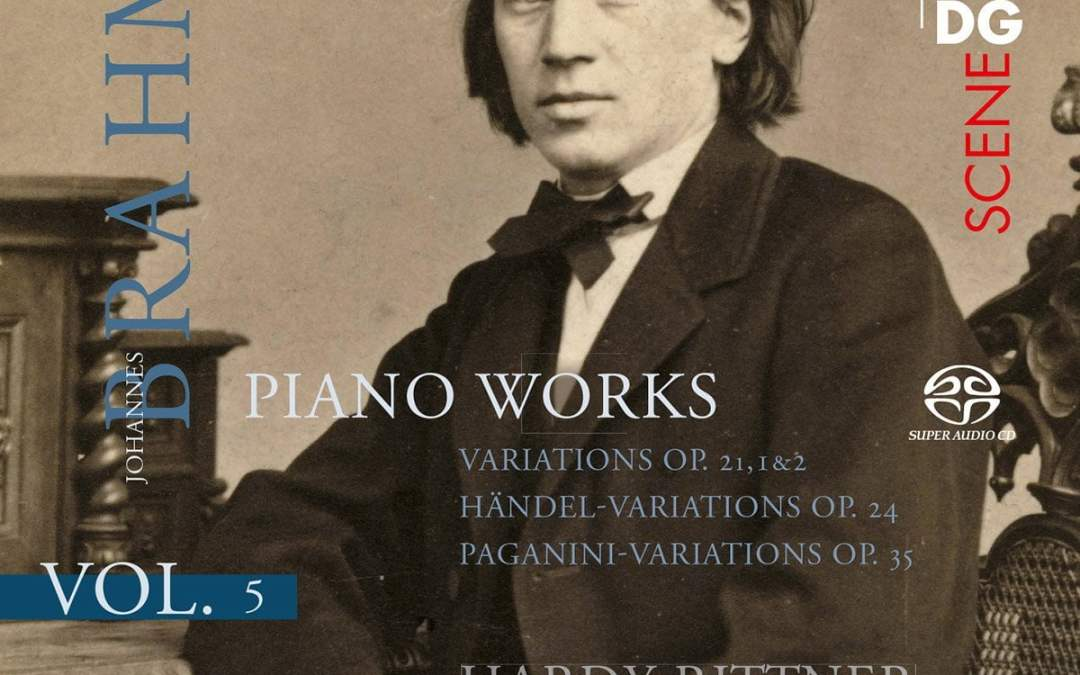 BRAHMS: Piano Works Vol. 5 = Variations for solo piano ‒ Hardy Rittner, piano ‒ MDG