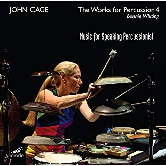 "JOHN CAGE: ""The Works for Percussion 4 – Music for Speaking Percussionist"", Blu-ray"