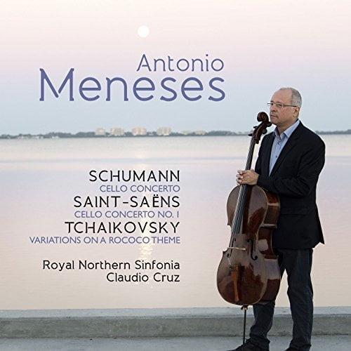 SCHUMANN: Cello Concerto; SAINT-SAENS: Cello Concerto No. 1; TCHAIKOVSKY: Rococo Variations – Antonio Meneses, cello/ Royal Northern Sinfonia/ Claudio Cruz – Avie