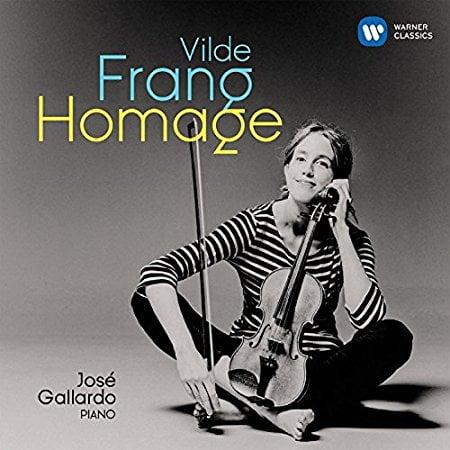 Vilde Frang: Homage = Violin Music by RIES; SCHUMANN; WIENIAWSKI; GLUCK; SCHUBERT; POLDOWSKI; DEBUSSY; SCRIABIN; KREISLER; DVORAK; PROKOFIEV; ALBENIZ; PONCE; BAZZINI; MENDELSSOHN – Vilde Frang / Jose Gallardo – Warner