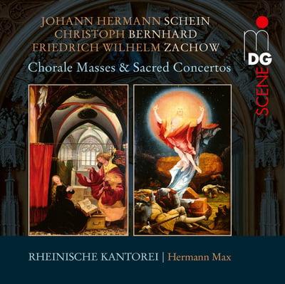 Chorale Masses & Sacred Concertos – Rheinische Kantorei, Hermann Max – MDG